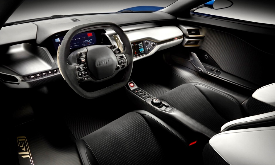 2017-ford-GT-Interior